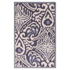 Marseille Rug. tribal inspired rug in violet