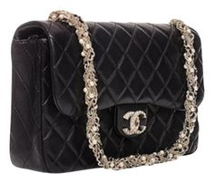 a081b1220729 Chanel Limited Edition Westminster Pearl Flap Black Clutch. Get the  trendiest Clutch of the season