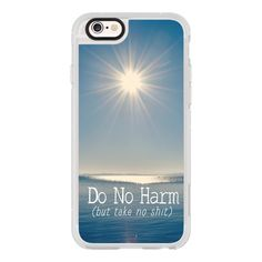 iPhone 6 Plus/6/5/5s/5c Case - Do No Harm ($40) ❤ liked on Polyvore featuring accessories and tech accessories