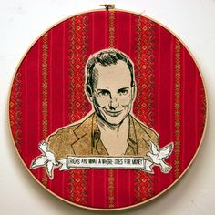 Mr X Stitch - contemporary embroidery and needlecraft blog - the home page for Mr X Stitch cross stitch patterns - Part 2