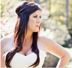wedding hair, LOVE! but maybe more curl? @Shannon Lindsay