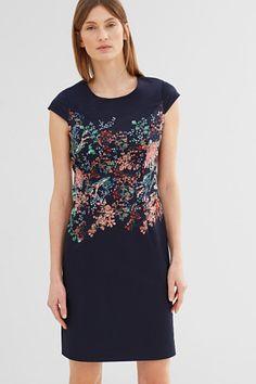 Esprit / Gesatineerde katoenen jurk
