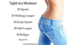 Get working on those glutes with this bikini butt workout!!