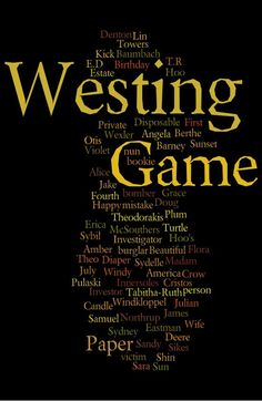 westing game book report Hello friends of mr ericksons class this is my book report of the book the westing game enjoy from nic.