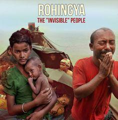 Πρόκειται για έναν λαό δίχως πατρίδα, δίχως πολιτικά δικαιώματα, διωκώμενο και διαβιών σε άθλιες συνθήκες, στην επαρχία Ραχίν της Μιανμά...