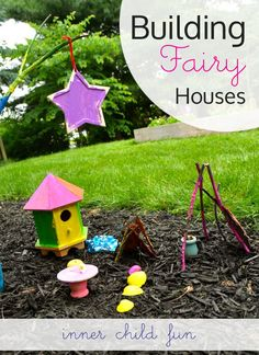 Who cares that I have boys, they can make fairy houses too!