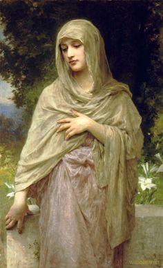 La modestia, William-Adolphe Bouguereau
