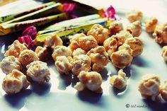 Financiers croustillants pop-corn et Carambars #recette