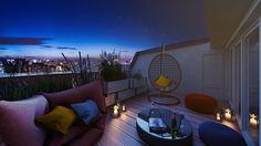 "Neubau von 4 Penthouses im Neubauprojekt ""Luzia Roofgarden Penthouses"" in Berlin-Charlottenburg. Foto: BEST PLACE Immobilien"