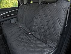 Car Seat Cover For Kids and Infants, Universal Fit For Up To 3 Seat Belts With Removable Center Zipper Panel for Easy Access- Covers Crumbs, Spills, and Baby Messes With Waterproof Technology
