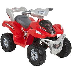 Eight24hours Kids Ride On ATV 6V Toy Quad Battery Power Electric 4 Wheel Power Bicycle Red ** See this great product.Note:It is affiliate link to Amazon. #commentback