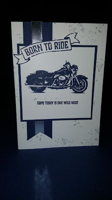 Donna Todd Independent Stampin Up! Demonstrator: Born to Ride