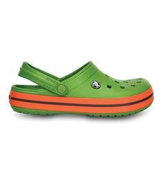 c848b43fa47a Take a look at this Green   Tangerine Crocband™ - Women   Men by Crocs on  today!