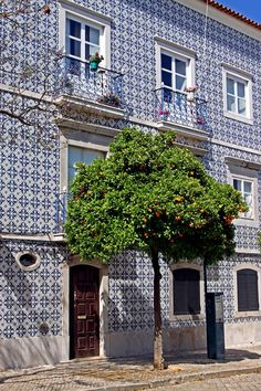Tavira, Portugal - those tiles Brazilian Portuguese, Learn Portuguese, Portuguese Tiles, Faro Algarve Portugal, Albufeira Portugal, The Places Youll Go, Places To See, Spain And Portugal, Visit Portugal
