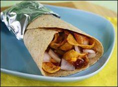 HG's Neat-O Chili-Frito Burrito Recipe by JOANNINE via @SparkPeople