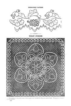 Antique Embroidery Pattern