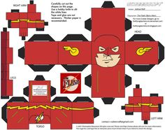 The Flash: The Flash Cubee by TheFlyingDachshund