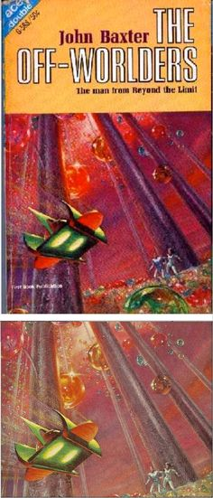 The Off-Worlders by John Baxter with cover art by FRANK KELLY FREAS - 1966 Ace Double G-588 - cover by isfdb