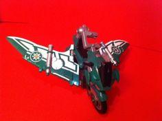 POWER RANGERS NINJA STORM GLIDER CYCLE GREEN BANDAI TRANSFORMING MOTORCYCLE TOY | Toys & Hobbies, Action Figures, TV, Movie & Video Games | eBay!