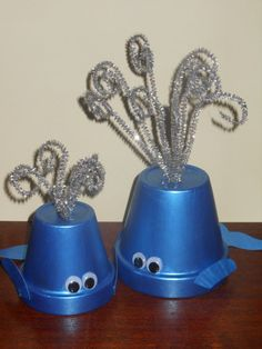 Blue Whale Ocean party decorations Set of 2 by Mixonmatch on Etsy, $10.00