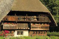 Schwarzwald (Black Forest) Germany. Freilichtmuseum Vogtsbauernhof Outdoor museum. I loved this place when I was a kid!