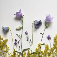 In the Yarn Garden: Blue bells