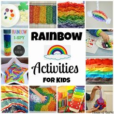 Rainbow Activities for Kids - House of Burke