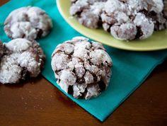 12 Days of Cookies: Chocolate Crinkles Recipe - Above & Beyond