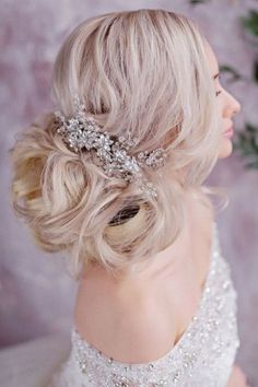 Long wedding hairstyles and wedding updos from Websalon Weddings 12