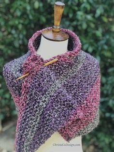 Umbria Knit Shawl a Free Knitting Pattern - ChristaCoDesign