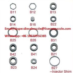 254 Best Common Rail injector parts and tool for Bosch, Denso