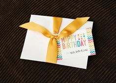 Free Birthday Tags ~ Cute free printable tags for birthday party gifts personalize the