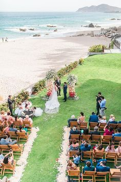 Colorful Cabo Destination Wedding - Belle The Magazine Ocean Photography, Event Photography, Best Bride, Honeymoon Spots, Up To The Sky, Wedding Honeymoons, Sophisticated Bride, Wedding Ceremony Decorations, Wedding Gallery