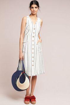 Slide View: 2: Leslie Textured Stripe Dress