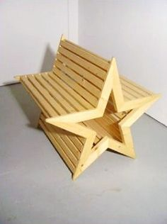 star bench • wouter nieuwendijk ( DON'T KNOW YET HOW I CAN DESIGN A TOTALLY DIFFERENT VERSION TO REPRESENT ME ! BUT I WILL.DB)