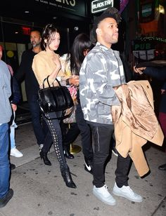 May 4: Bella Hadid and Abel Tesfaye out in NYC.