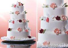 Bolos de casamentos para todos os gostos