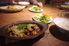 Gratin Dish (S /brown) /Awabi ware : IMGP9467.JPG