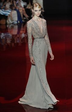 Elie Saab Autumn/Winter 2013 Haute Couture: the gold standard of elegance and perfection