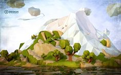 If you're not familiar with the term, you've certainly seen the style. Low poly art is all the rage.