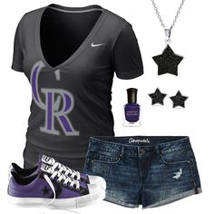 Colorado Rockies Summer All Star Outfit