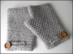 Mitones de lana grises / El rincón de los hilos - Artesanio