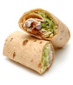 Hartige hapjes van wraps! Healthy Packed Lunches, Tacos And Burritos, Brunch, Steak Bites, Tortilla, Salsa, Wrap Recipes, Wrap Sandwiches, Quiches