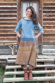 ethnic style with a modern twist