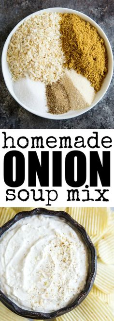 Homemade Onion Soup Mix is perfect for soups, dips…