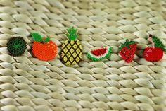 #helloeniiga #miyuki #jewellery #kivi #orange #pineapple #ananas #watermelon #karpuz #çilek #strawberry