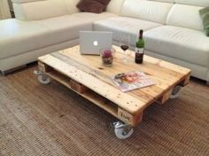 Upcycle, Table, Furniture, Design, Home Decor, Wood Ideas, Home, Wooden Blocks, Colorful Pillows