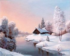 levkonoe | В.Воробьев. Зимняя сказка
