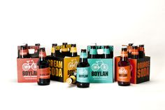 Boylan Bottling Co. by Victoria Baughman, via Behance Beer Packaging, Packaging Design, Soda, Nat King, King Cole, Orange, Projects, Rocks, Behance
