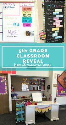 5th grade classroom decor and organization ideas! She walks you through her…